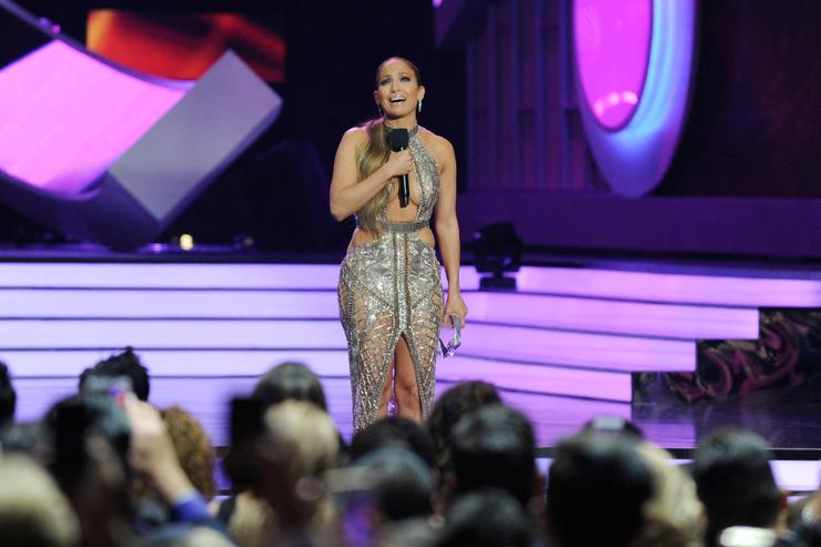 Jennifer Lopez performs onstage at the Billboard Latin Music Awards at Watsco Center on April 27, 2017 in Coral Gables, Florida.