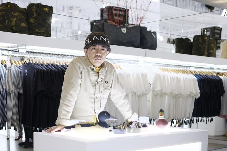 Nigo at the New York City Billionaire Boys Club Store Launch